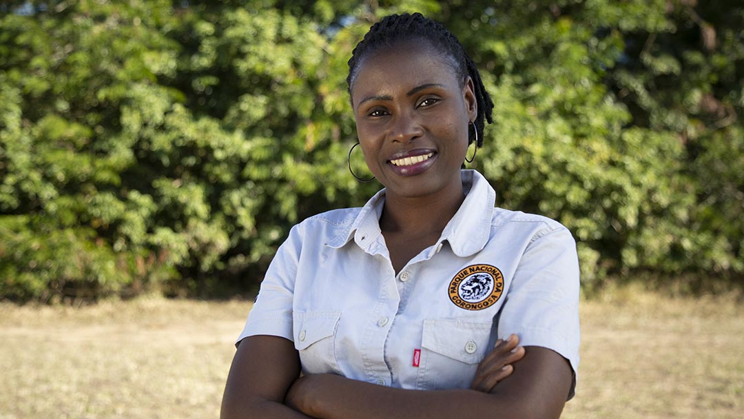 Felistas Msaya, Gorongosa National Park, Mozambique, Operations Team
