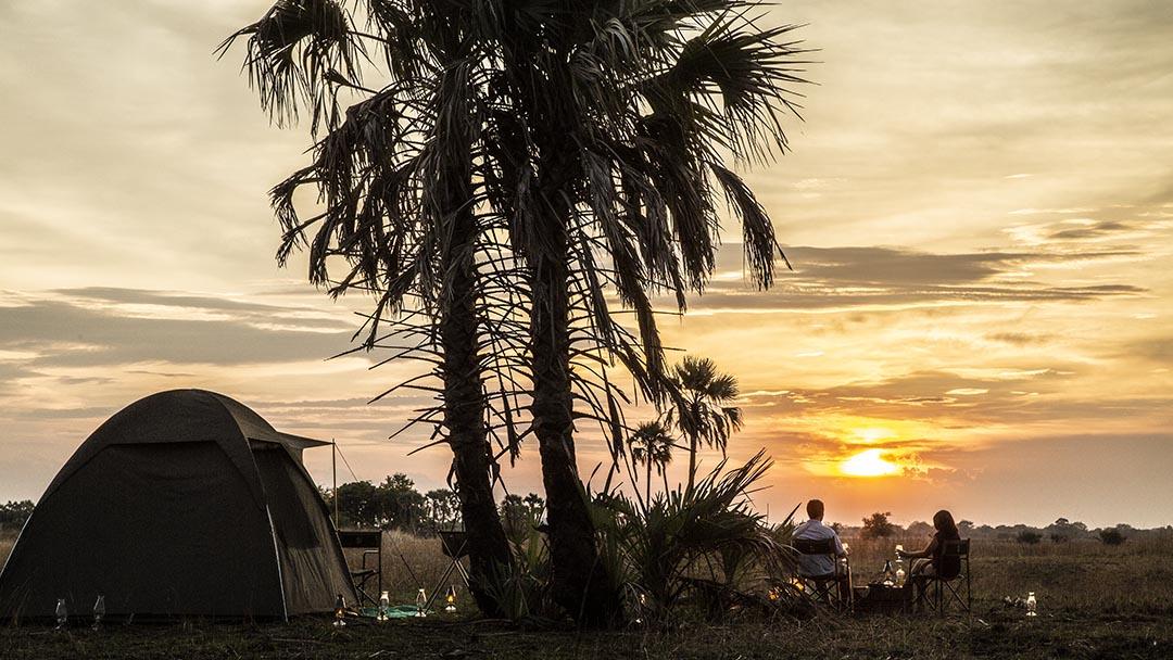 Fly camping Gorongosa