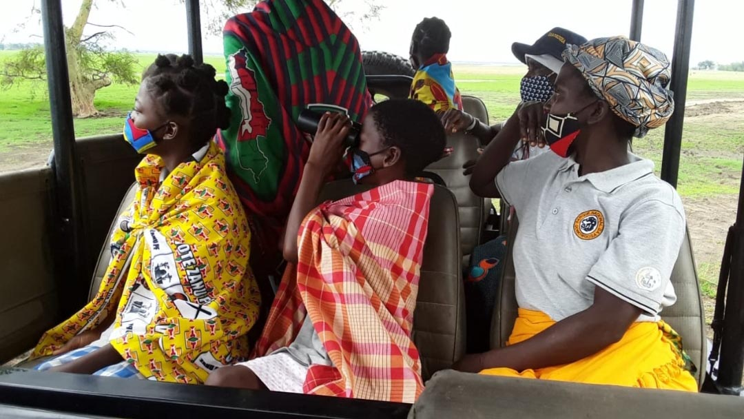 Girls Club Visit – International Workers Day