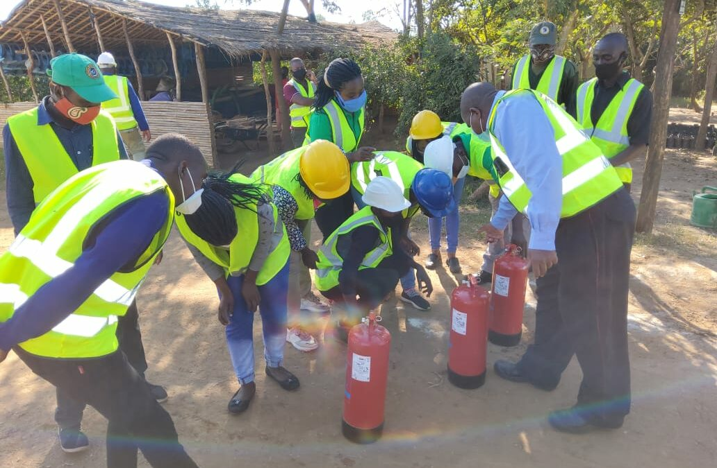 Fire Fighting and Prevention Training